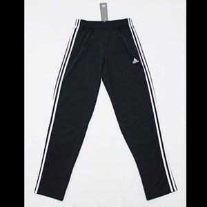ADIDAS Men's Tricot Black Track Open Pants Joggers